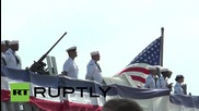 Spain: Aegis-equipped USS Carney arrives in Rota