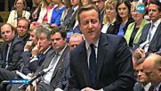 Дейвид Камерън се отказа от депутатското си място