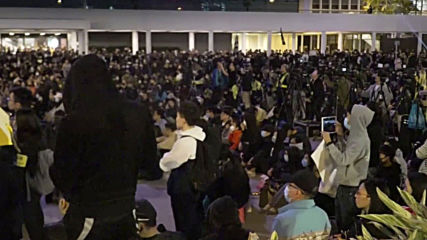 Hong Kong: Opposition mark six months since police clashes