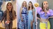 Стилна, елегантна и без кич: Дара Екимова впечатли с рокля на абитуриентския си бал