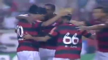 Гол на Роналдиньо - Flamengo vs Atletico Mineiro (4-1)