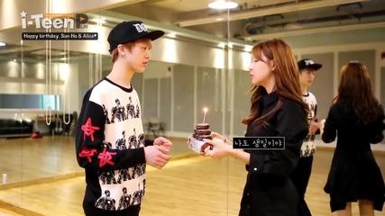 Happy birthday, San Ha & Alice♥