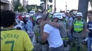 Протести на бразилци преди контролата с Панама