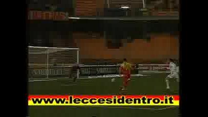 Lecce - Fiorentina(vucinic)