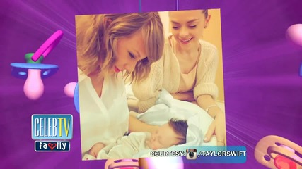 Taylor Swift Meets Godson For The First Time!