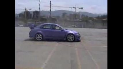 Mitsubishi Lancer & Carting - Drifting