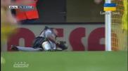 Страхотно попадение на Ману Тригерос ! Виляреал - Барселона 2-0