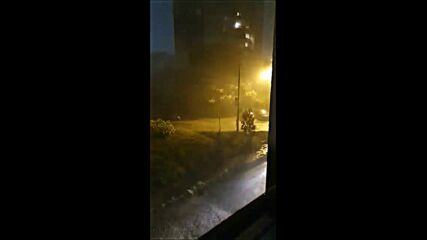 Мощна буря в София