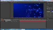 Работа с Adobe After Effects Cs6 за начинаещи част 2