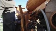 Мотор от дърво изработи унгареца Ищван Пушкаш!