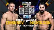 Misha Cirkunov vs Alex Nickolson (ufc Fight Night 82, 06.02.2016)