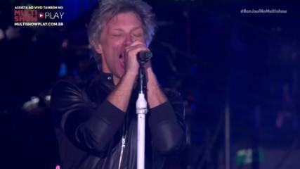 Bon Jovi - Living On A Prayer - Rock in Rio - Rio de Janeiro, Brazil - 2017