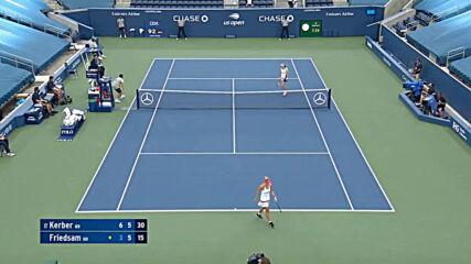 Angelique Kerber vs Anna-lena Friedsam Highlights - R2 Us Open 2020 9 2 2020