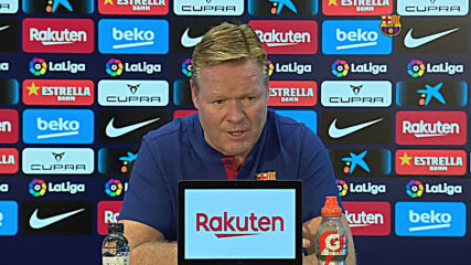Spain: 'I'm used to that kind of pressure' - Barca coach Koeman ahead of El Clasico debut
