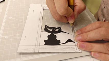 """""""Кири-е"""" - рисуване чрез изрязване на хартия"""