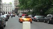 Оранжев Mercedes Fab дизайн Sls Amg в Лондон