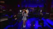 Solange - Don't Let Me Down (on David Letterman)