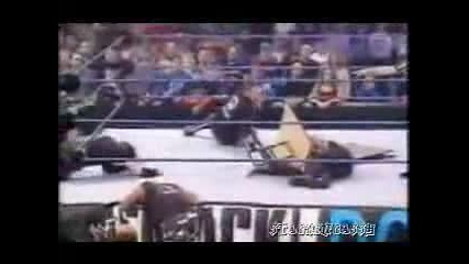 Hardy Boyz Vs Dudley Boyz - Table Match