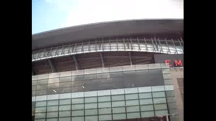 Emirates Stadium От Вънка Част 1