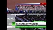Парад на победата - Москва 9 май 2010 г. - част 1