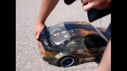 Rc Car Burnout