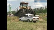 Трактор гази полицейска Лада