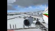 A319 landing at Varna - Гледайте на цял екран! -