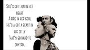 The Script - Superheroes ( Lyrics On Screen )