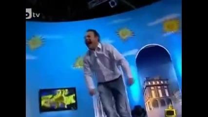 Рачков се преби по време на шоу (смях)