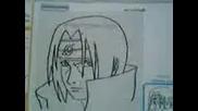Как Да Нарисувате Itachi
