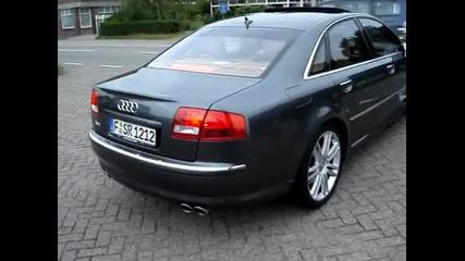 Звукът на Audi S8 !