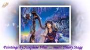 С изкуството на Josephine Wall! ... (music Hilary Stagg)