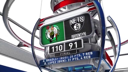 Селтикс надигра Нетс в НБА
