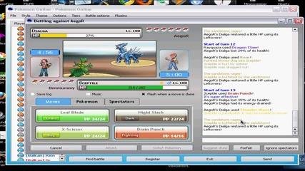 Pokemon Pro Online Battlin #3