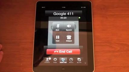 Make free calls on the Ipad !