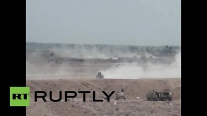 Ирак: Войниците тръгват с големи оръжия към град Рамади