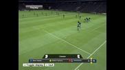2 гола на Pro Evolution Soccer 2009