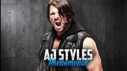 Aj Styles 1st Official Theme Song - Phenomenal