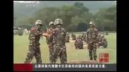 Китайски войници играят на горещ картоф с истинска бомба!