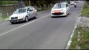пети етап от колоездачната обиколка Карнобат - Казалнък е снимано в Загора