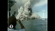 Изригване на подводен вулкан - Тонга