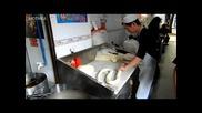 Ето как се правят спагети в Китай