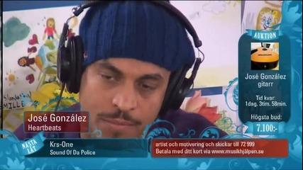 Jose Gonzalez - Heartbeats live!