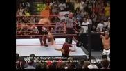 (24 юли, 2006 Raw) Johny Nitro & Edge vs Ric Flair & John Cena