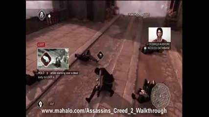 Assassins Creed 2 Walkthrough - Mission 1 Boys Will Be Boys Hd
