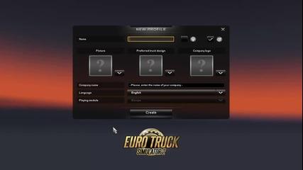 Euro Truck 2 - епизод 1 (мартин)