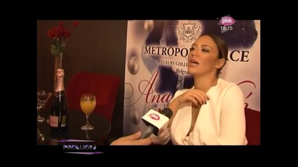 Ana Nikolic - Press konferencija u hotelu Metropol - - (tv Pink 05.12.2014.)