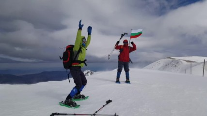 Танц с вятъра, вр. Параджика, Стара планина / Dancing in the wind, peak Paradzhika, Balkan mountain