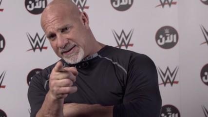 """Goldberg does not fear """"The Fiend"""" Bray Wyatt: WWE Al An Super ShowDown Exclusive"""