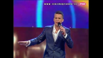 Milan Mitrović - Dodir neba (Zvezde Granda 2010_2011 - Emisija 19 - 12.02.2011)